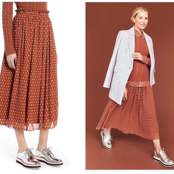 Fall transitional skirt
